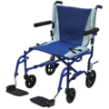 TranSport Aluminum Transport Wheelchair