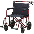 Bariatric Heavy Duty Transport Chair
