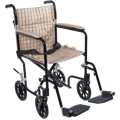 Flyweight Lightweight Transport Wheelchair