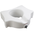 Elevated Toilet Seat without Arms, Standard Seat