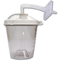 Case of 12 Disposable Suction Canisters, 800CC