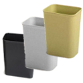 Fire Rated Trash Can - 27qt - 6 Pack
